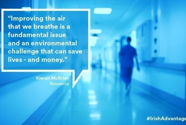 Novaerus uses power of plasma to improve air quality and patient outcomes