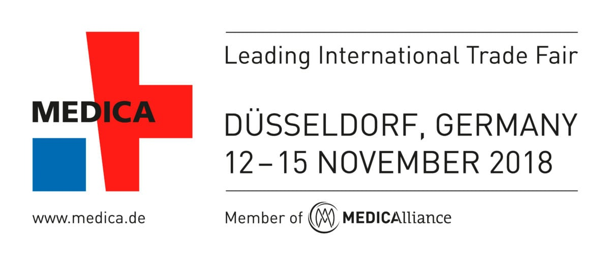 Medica 2018 banner, date and location