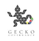 Company logo, gecko Governance