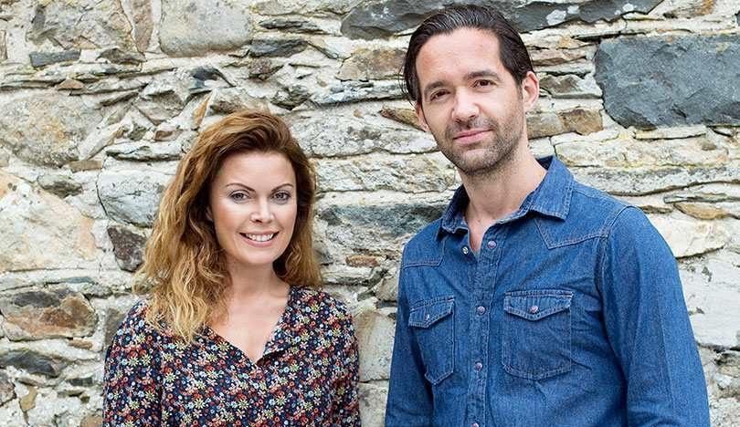 Vanessa Tierney and Ben Wainwright, co-founders of Abodoo