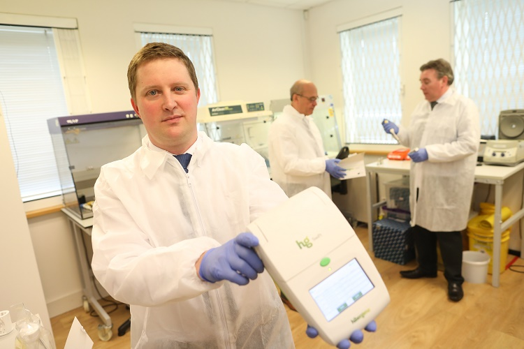 HiberGene Diagnostics COVID-19 test launch
